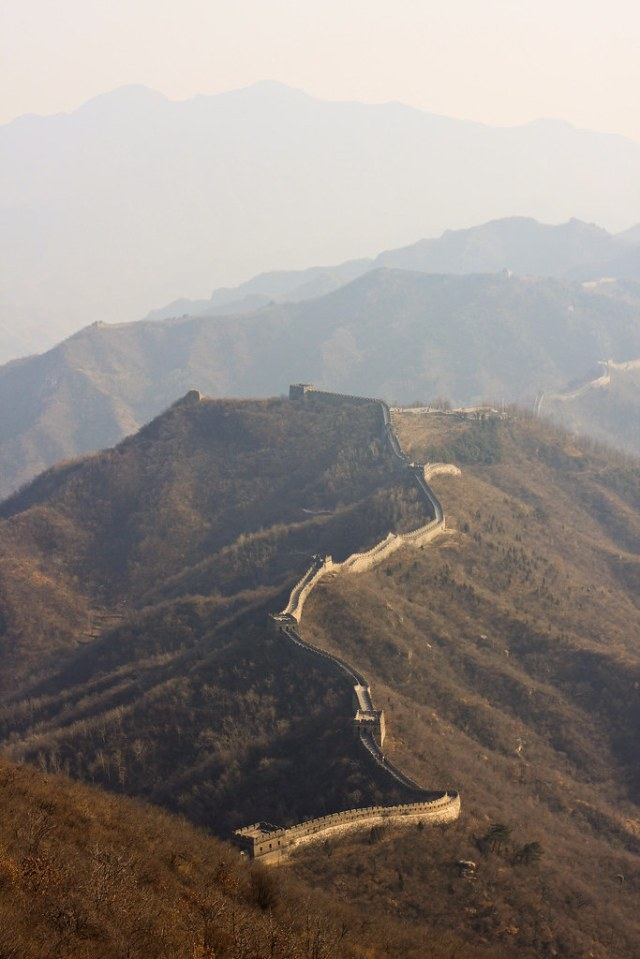 zigzag // mutianyu great wall