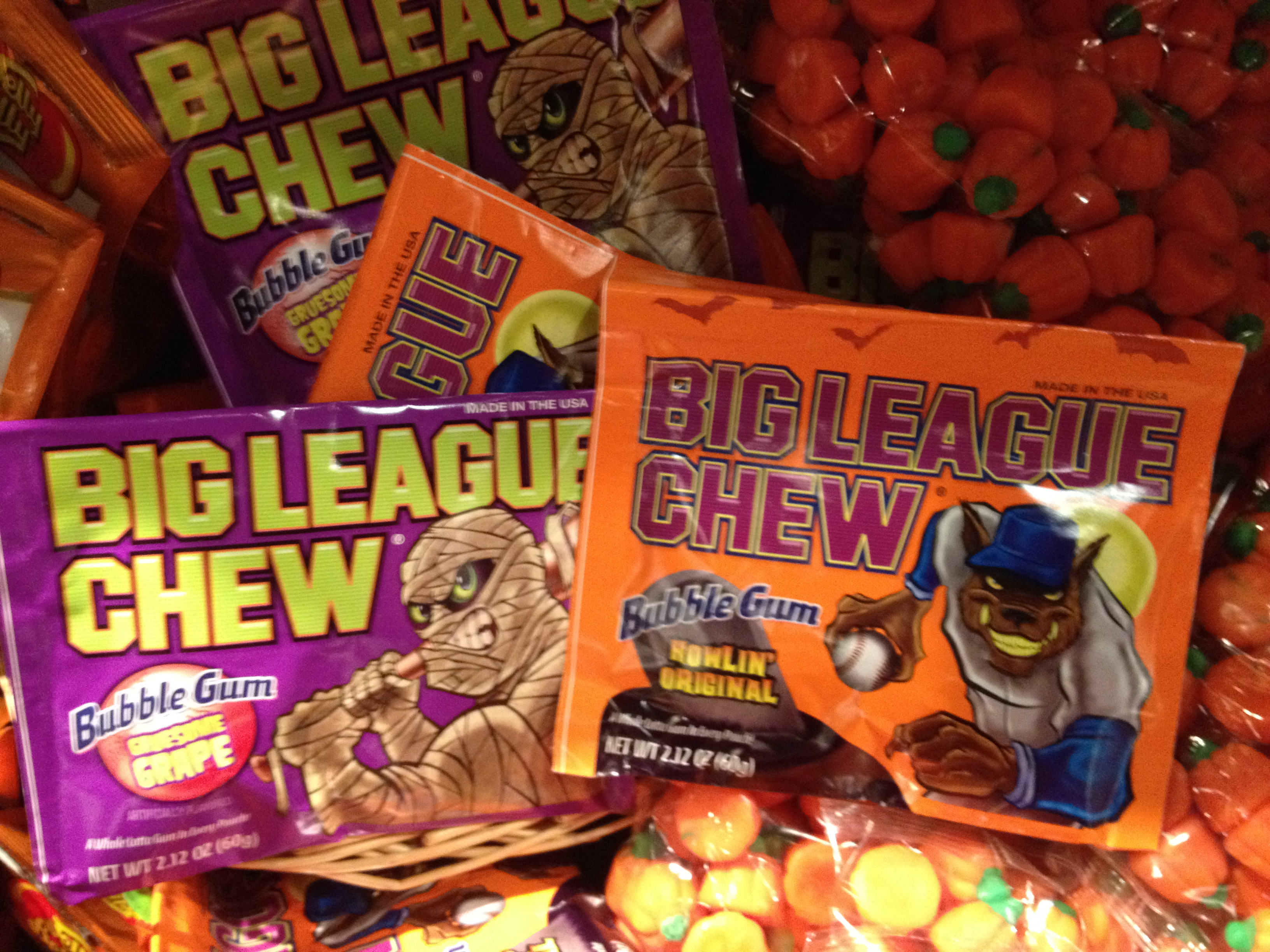 Halloween Big League Chew