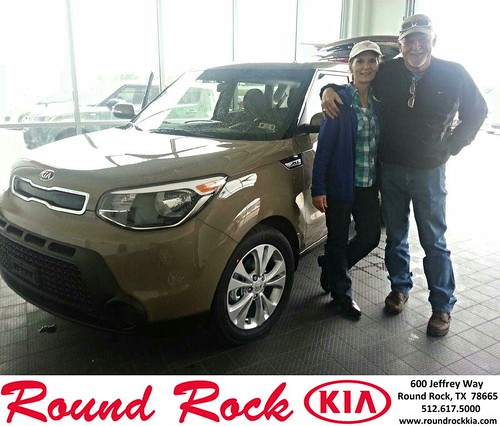 Thank you to Eddie  Dunaway on your new 2014 #Kia #Soul from Kelly  Cameron and everyone at Round Rock Kia! #NewCarSmell by RoundRockKia