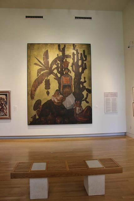 'People from Tehuantepec' by Roberto Montenegro, San Antonio Museum of Art
