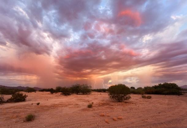 Red Sky in Marana