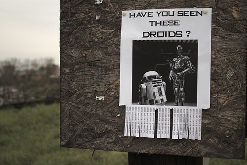 Flickr Friday #39: Have you seen these droids? (May the Force be with you) - Explored