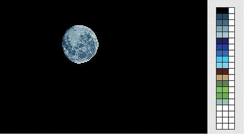 Blue-Luna-Moon by Carmen CS