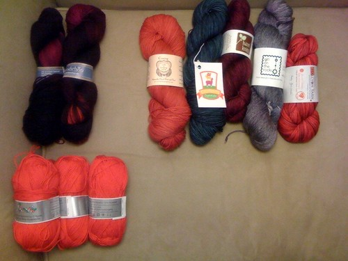 Yarn choices
