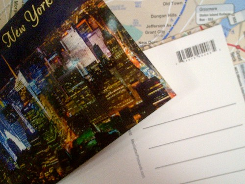 Postcards on the way