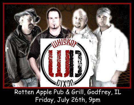 Whiskey Dixon 7-26-13