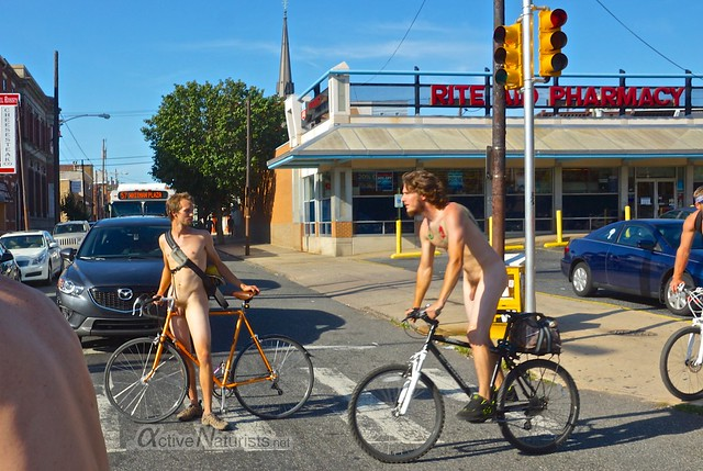 naturist 0000 Philly Naked Bike Ride, Philadelphia, PA USA