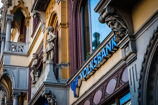 Volksbank branch, Budapest, Hungary