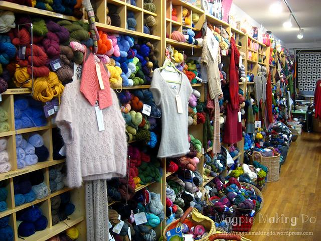 Knitty City inside