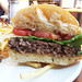 Canyon Creek Chophouse - the burger