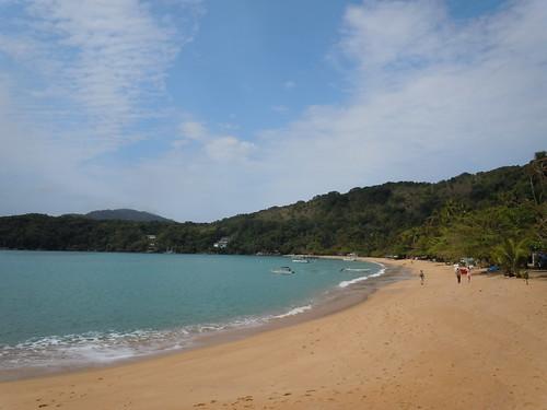 First Beach of the hike, Praia das Palmas