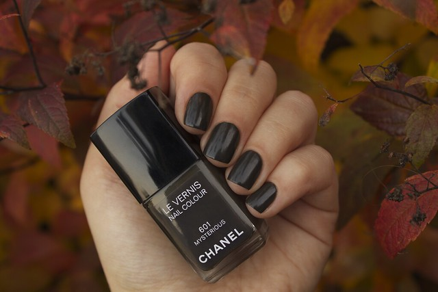 17 Chanel Mysterious swatches