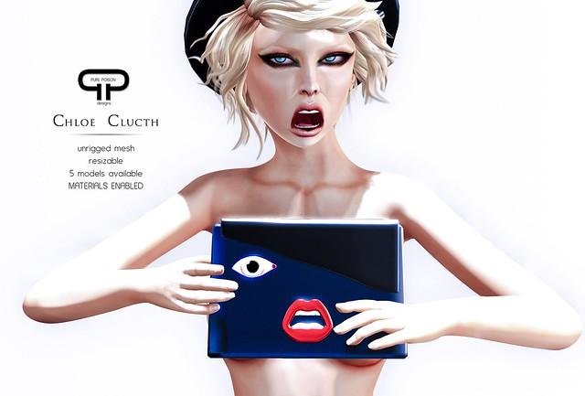 Pure Poison - Chloe Clutch