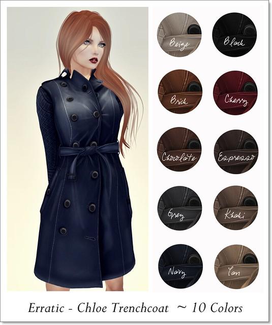 Erratic Chloe Trenchcoat Composite