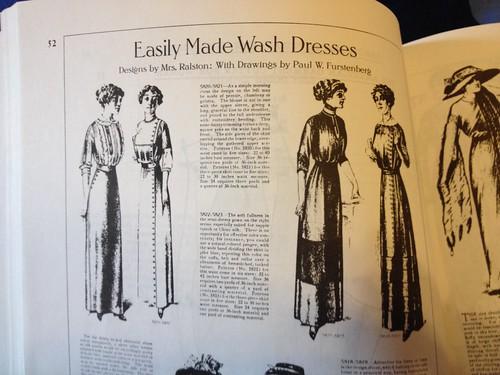 1910s Striped Dress
