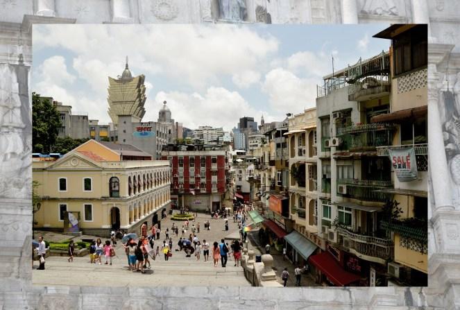 Ruins of St Paul's Macau, photography, macau street