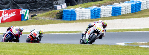 Alvaro Bautista On The Gas by Daniel Hall - AUS