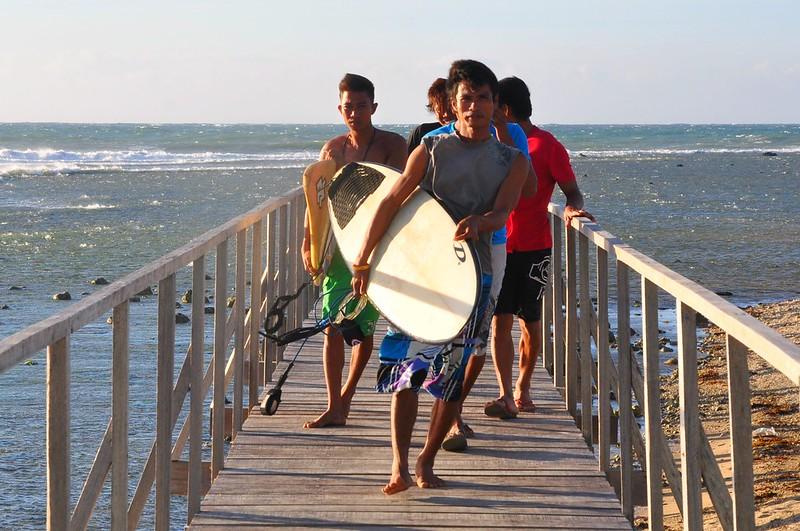 Surfing Ilocos
