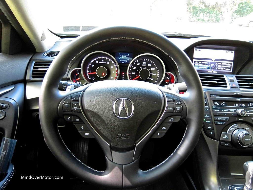 Acura TL SH-AWD Interior