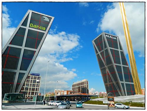 Torres KIO de Madrid