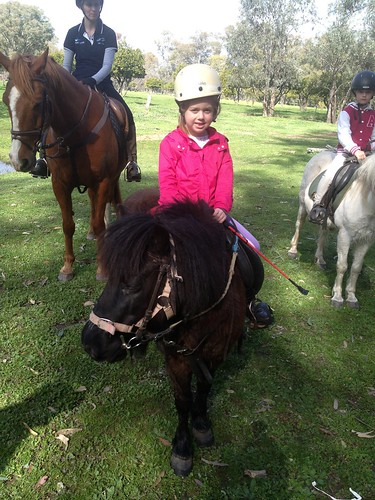 Sophie riding August 2013