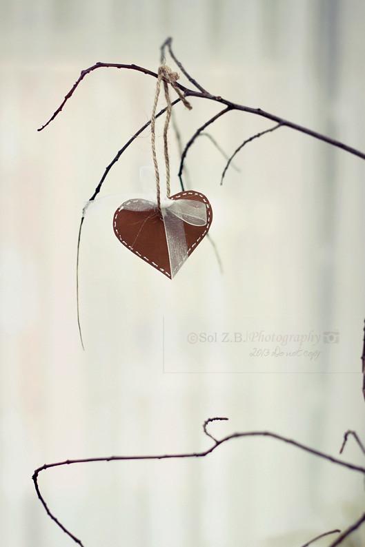 Corazón en Navidad. Christmas heart