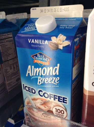 Blue Diamond Almond Breeze Vanilla Iced Coffee