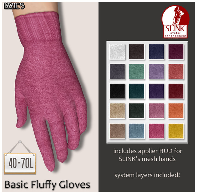 TDRF (Basic Fluffy Gloves)
