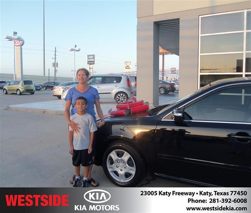 Westside KIA Houston Texas Customer Reviews and Testimonials - Rose Molina by Westside KIA