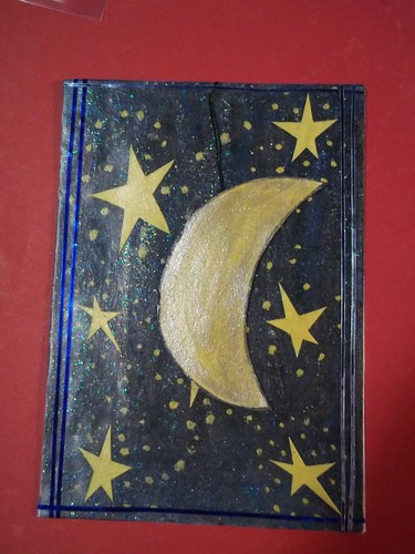 Moon and Stars ATC by oddbroad