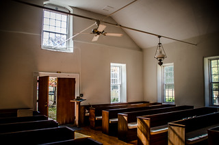 Duncan Creek Presbyterian Church Interior