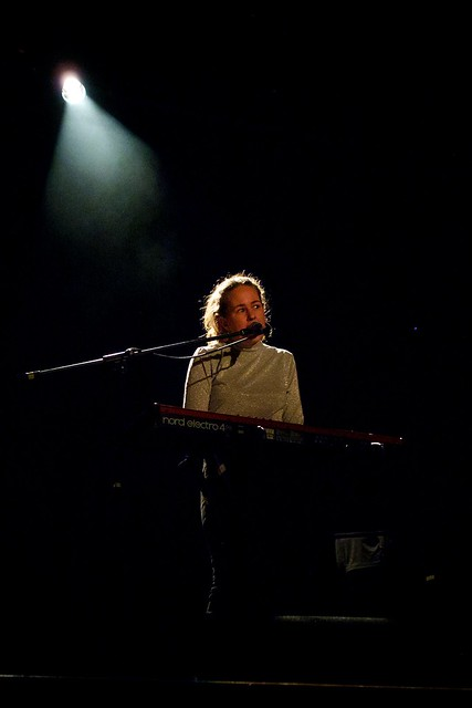 Alice Bodman supporting Sarah Blasko at the Islington Assembly Hall