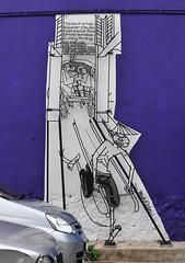 Georgetown street art- painted 25