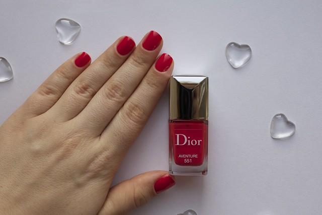 12 Dior 551 Aventure swatches