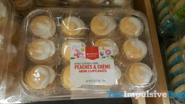 Market Pantry Peaches & Creme Mini Cupcakes