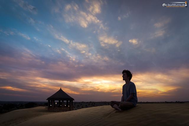 Striving for inner serenity
