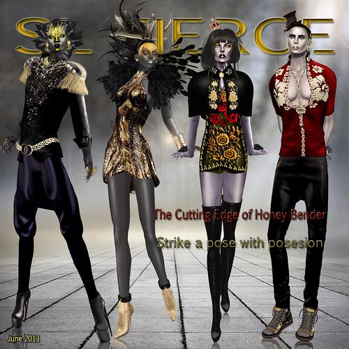 SL Fierce 4th issue by Bianca Adder
