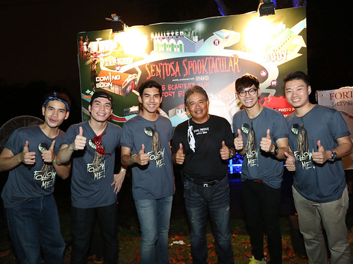 sentosa spooktacular 2013 thai celebrities