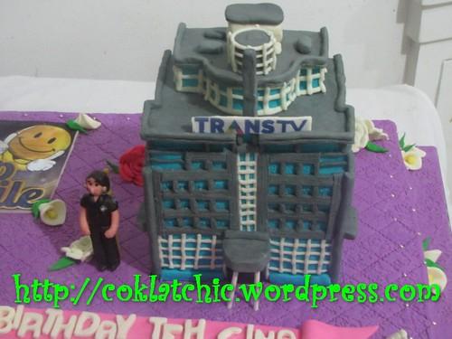 Cake Gedung Trans 7