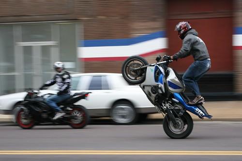 Motorcycle Tricks Wheelie