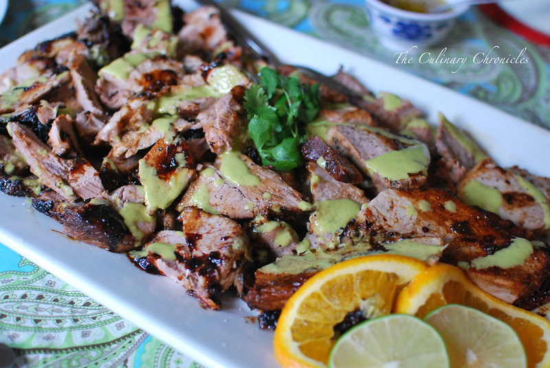 Cuban Roast Pork with Mojo Sauce