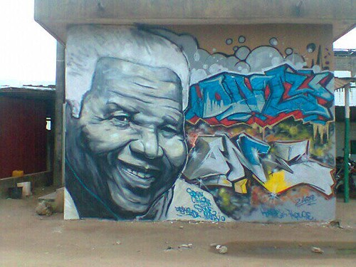 Nelson Mandela by Sincelor  by Jujufilms
