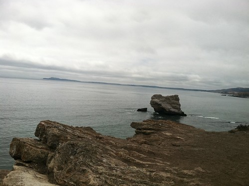 Pt Reyes from Arch Rock, bear valley trail
