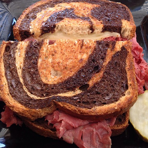 The Rueben at Choppers by @MySoDotCom