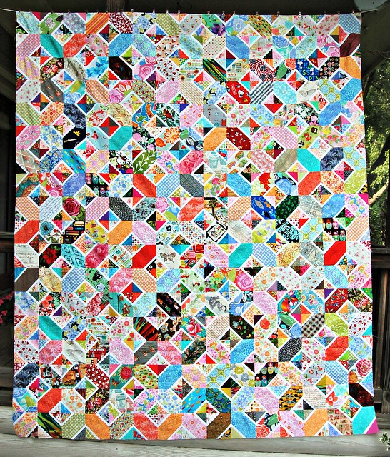 Kaori's Hugs and Kisses Quilt Top