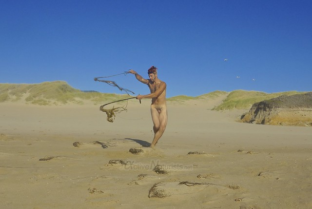 naturist 0001 Ano Nuevo Beach, CA USA