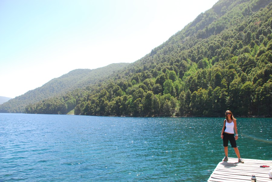 Muelle de lago Hermoso