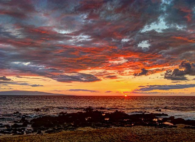 Maui Sunset 1_17_14