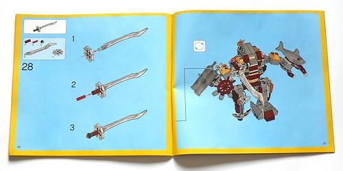 LEGO The Movie 70807 MetalBeard's Duel ins03