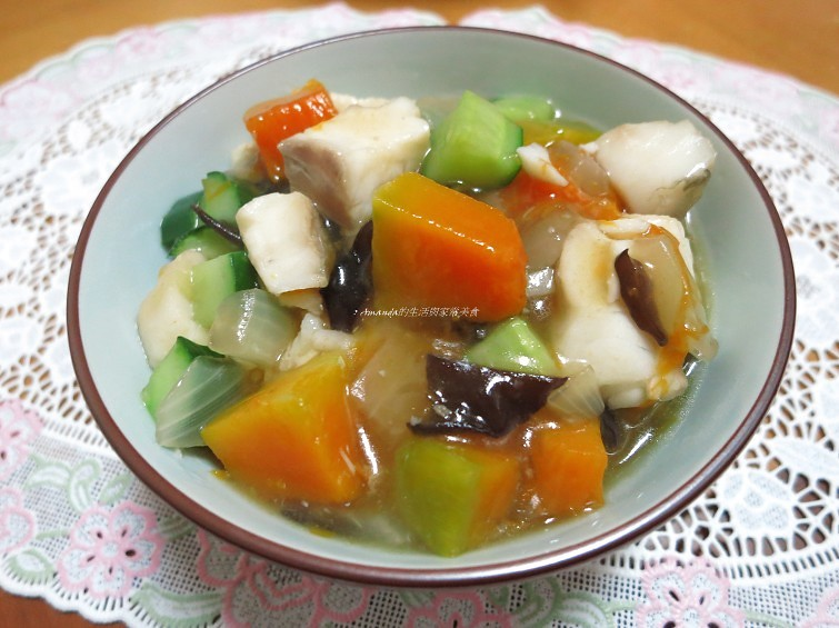 鯛魚南瓜燴飯